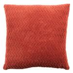 Zierkissen Talisha - Rostfarben, MODERN, Textil (40/40cm) - Luca Bessoni