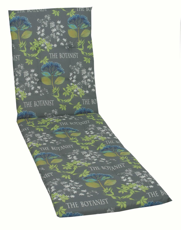 JASTUK ZA LEŽALJKU - siva/zelena, Design, tekstil (60/190/5cm) - AMBIA GARDEN