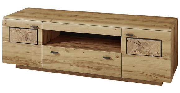LOWBOARD 190/59/47 cm  - Buchefarben/Graphitfarben, KONVENTIONELL, Holzwerkstoff/Metall (190/59/47cm) - Cantus