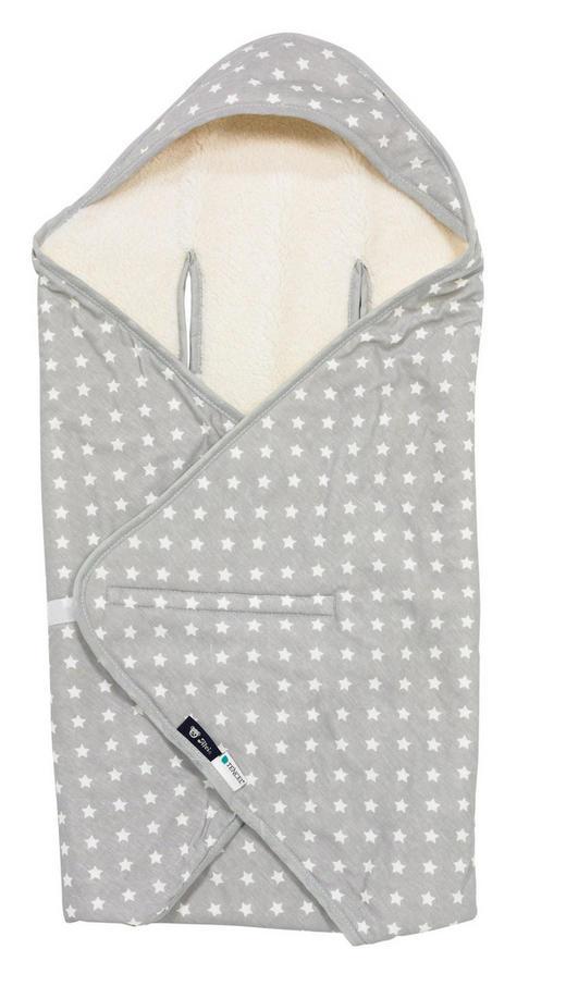 BABYDECKE - Silberfarben, Basics, Textil (80x80cm) - Alvi