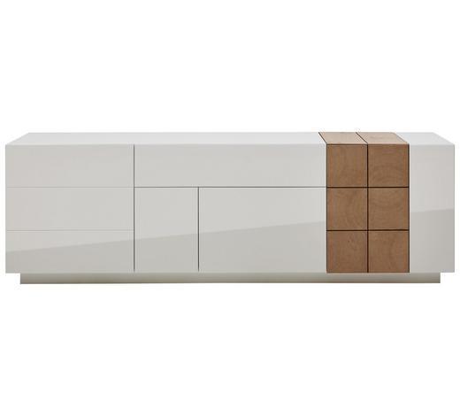 cheap sideboard eiche furniert lackiert eichefarben wei design holz with sideboard eiche wei