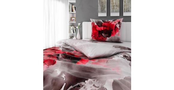 BETTWÄSCHE 140/200 cm  - Rot, KONVENTIONELL, Textil (140/200cm) - Esposa