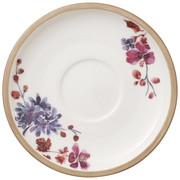 KROŽNIK ZA SKODELICO ARTESANO - bela/večbarvno, Konvencionalno, keramika (16cm) - Villeroy & Boch