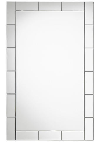 OGLEDALO, 95/150/1,9 cm steklo  - srebrna, Design, steklo (95/150/1,9cm) - Xora