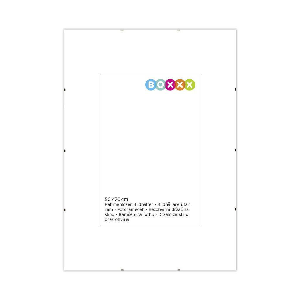 Image of Boxxx Cliprahmen in klar , 634560 , Glas , klar , 004342022909