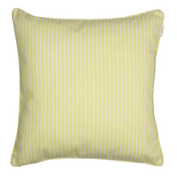 KISSENHÜLLE Hellgrün, Weiß 45/45 cm - Hellgrün/Weiß, Textil (45/45cm) - ESPRIT