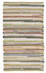 HANDWEBTEPPICH  60/110 cm  Multicolor - Multicolor, Basics, Weitere Naturmaterialien (60/110cm) - Linea Natura