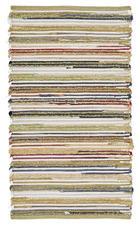 HANDWEBTEPPICH 70/130 cm - Multicolor, Natur, Weitere Naturmaterialien (70/130cm) - Linea Natura