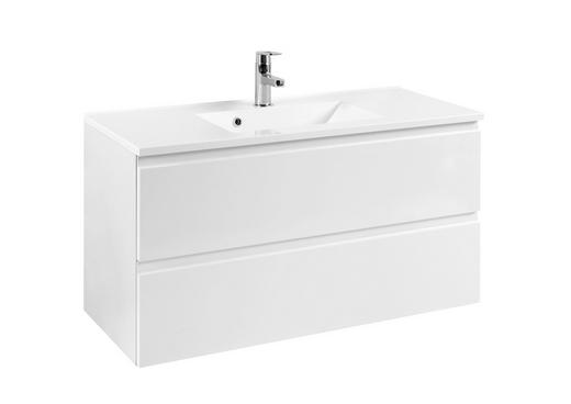 WASCHTISCHUNTERSCHRANK Weiß - Weiß, Design, Holzwerkstoff (100/56/47cm) - Xora