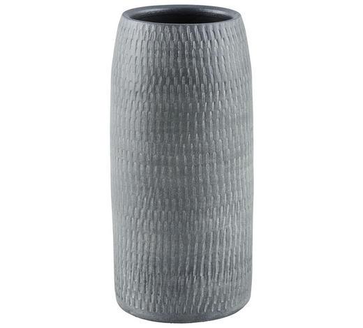 VASE 30 cm - Grau, Design, Keramik (14/14/30cm) - Ritzenhoff Breker