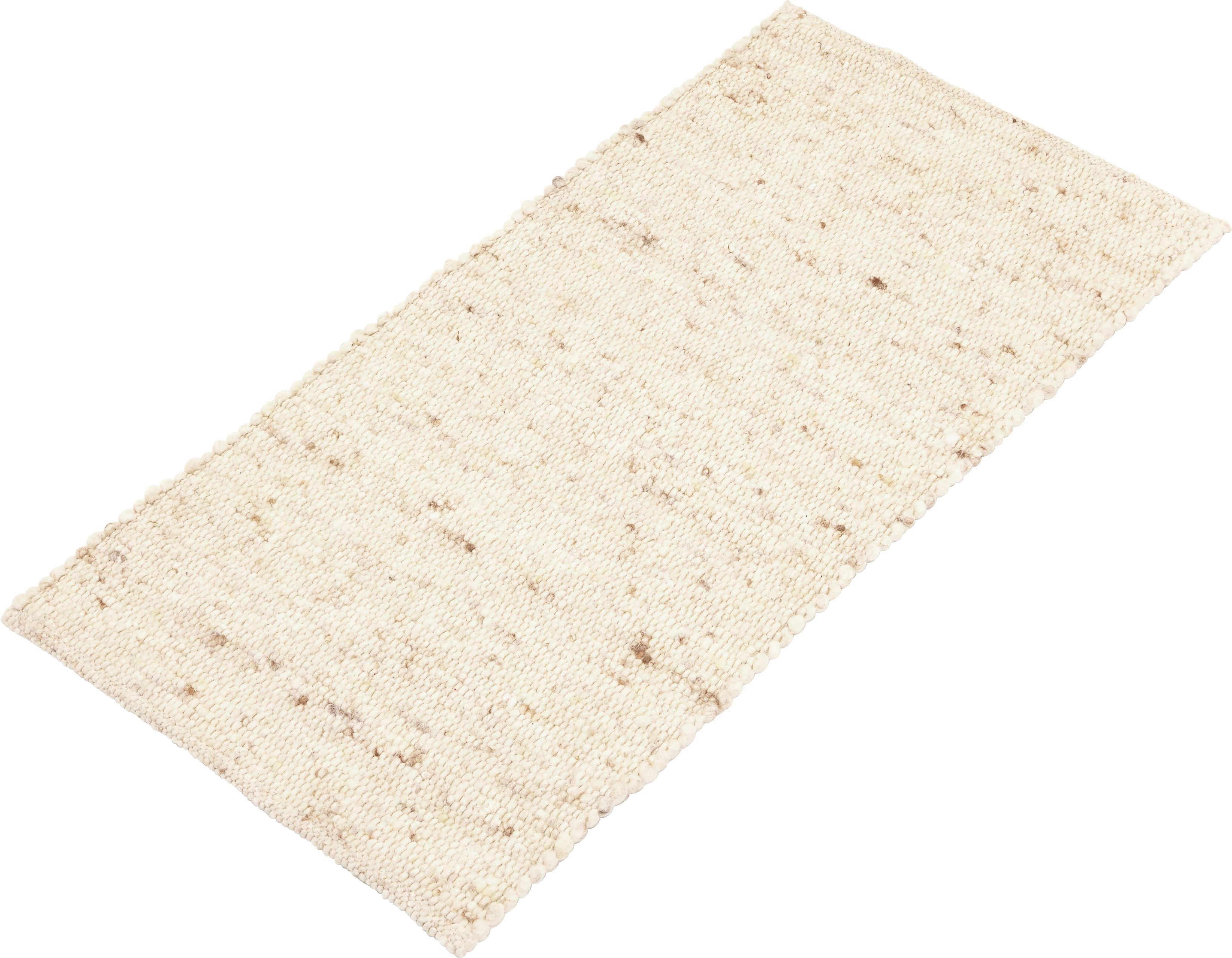 HANDWEBTEPPICH 200/290 cm - Creme, LIFESTYLE, Textil (200/290cm) - LINEA NATURA