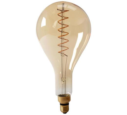 LED-Leuchtmittel E27 - Goldfarben, Basics, Glas (16,2/33cm) - Calex