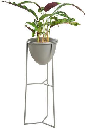 KRUKA - antracit, Design, metall (22/55,5/21cm) - Ambia Home