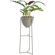 PFLANZENTOPF - Anthrazit, Design, Metall (22/55,5/21cm) - Ambia Home