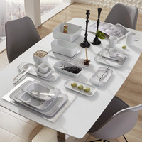 SCHALE Keramik Porzellan  - Weiß, Basics, Keramik (23/11/4cm) - Seltmann Weiden
