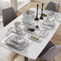 SERVIERPLATTE - Weiß, Basics, Keramik (24/12cm) - Seltmann Weiden