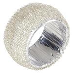 SERVIETTENRING 4,5 cm   - Silberfarben, LIFESTYLE, Glas (4,5cm) - Ambia Home