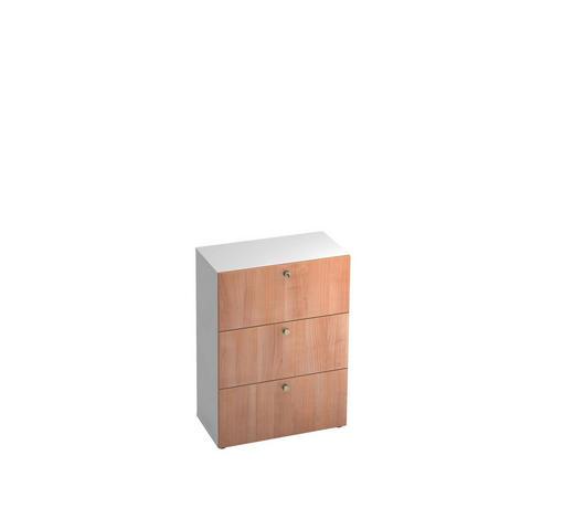 HÄNGEREGISTERELEMENT - Nussbaumfarben/Alufarben, KONVENTIONELL, Holzwerkstoff/Kunststoff (80/110/42cm)