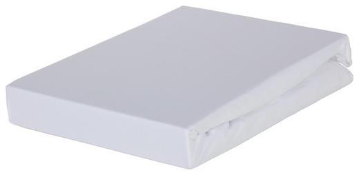 BOXSPRING-SPANNBETTTUCH - Weiß, Basics, Textil (140/200cm) - Novel