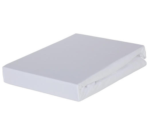 BOXSPRING-SPANNLEINTUCH 90/220 cm - Weiß, Basics, Textil (90/220cm) - Novel