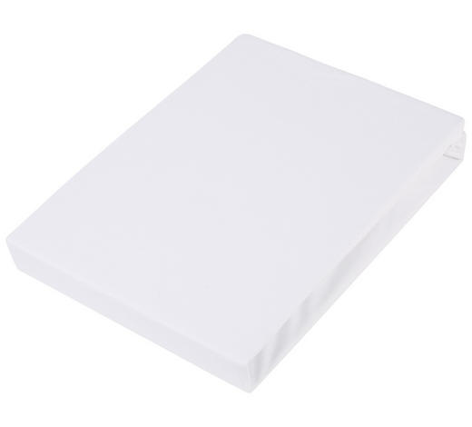 BOXSPRING-SPANNLEINTUCH - Weiß, Basics, Textil (90/220cm) - Novel