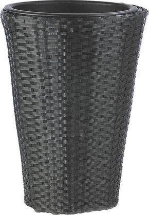 KRUKA - svart, Basics, metall/plast (28/40cm) - Ambia Garden