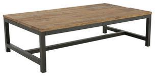 COUCHTISCH in Holz, Metall 120/60/40 cm   - Dunkelgrau/Braun, Trend, Holz/Metall (120/60/40cm) - Landscape