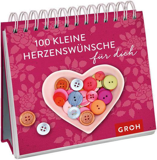 GESCHENKBUCH 100 kleine Herzenswünsche - Design (12,7/11,1/2,5cm) - Groh