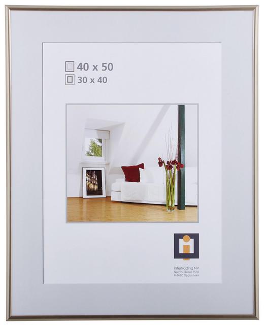RÁM NA OBRAZY - antracitová, Basics, umělá hmota/sklo (40/50cm)