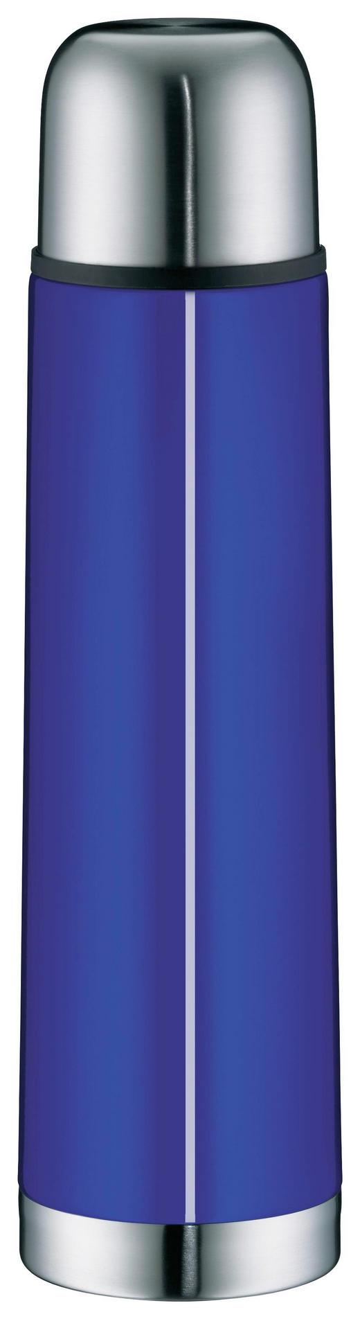 ISOLIERFLASCHE 0,75 L - Blau, Basics, Metall (0,75l) - Alfi