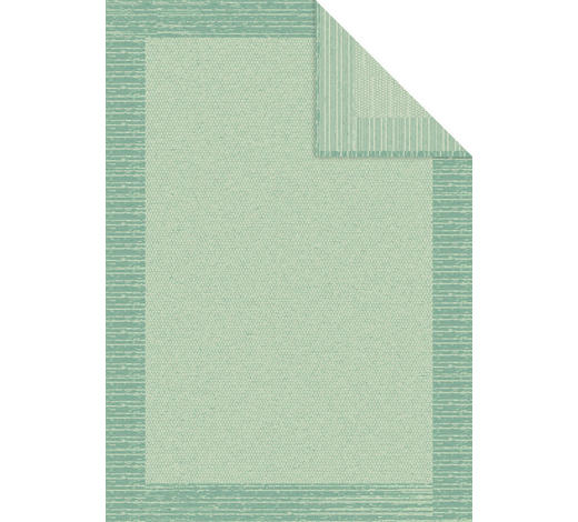 DECKE 140/200 cm - Türkis, Natur, Textil (140/200cm) - Bio:Vio