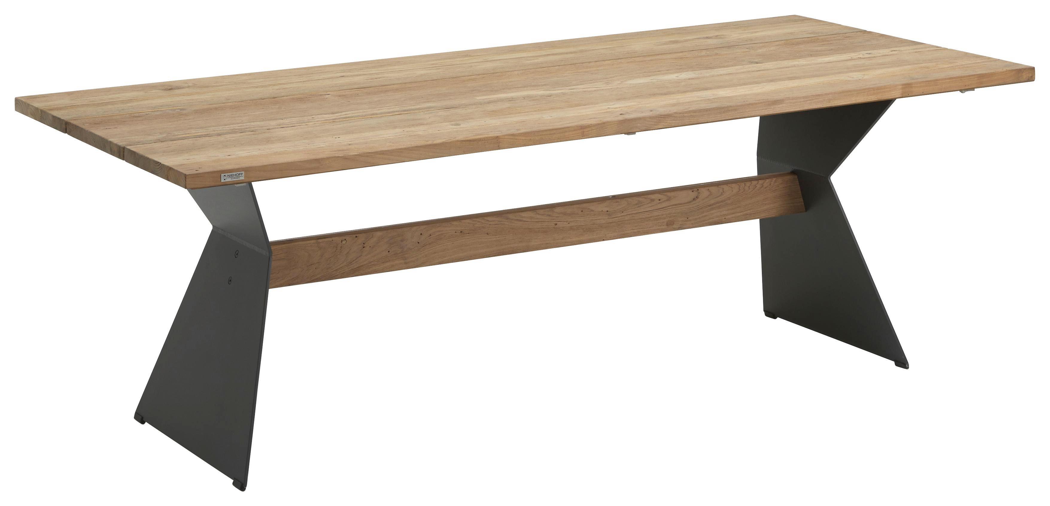 Balkontisch metall holz  Holz Gartentisch Preisvergleich • Die besten Angebote online kaufen