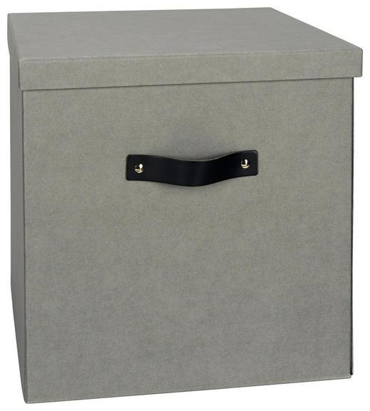 KARTONAGE 31,5/31,5/31 cm - Grau, Basics, Karton (31,5/31,5/31cm)