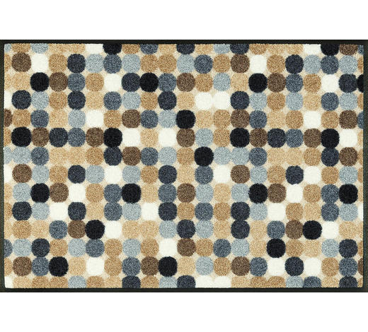 FUßMATTE 50/75 cm Graphik Naturfarben  - Naturfarben, Basics, Kunststoff/Textil (50/75cm) - Esposa
