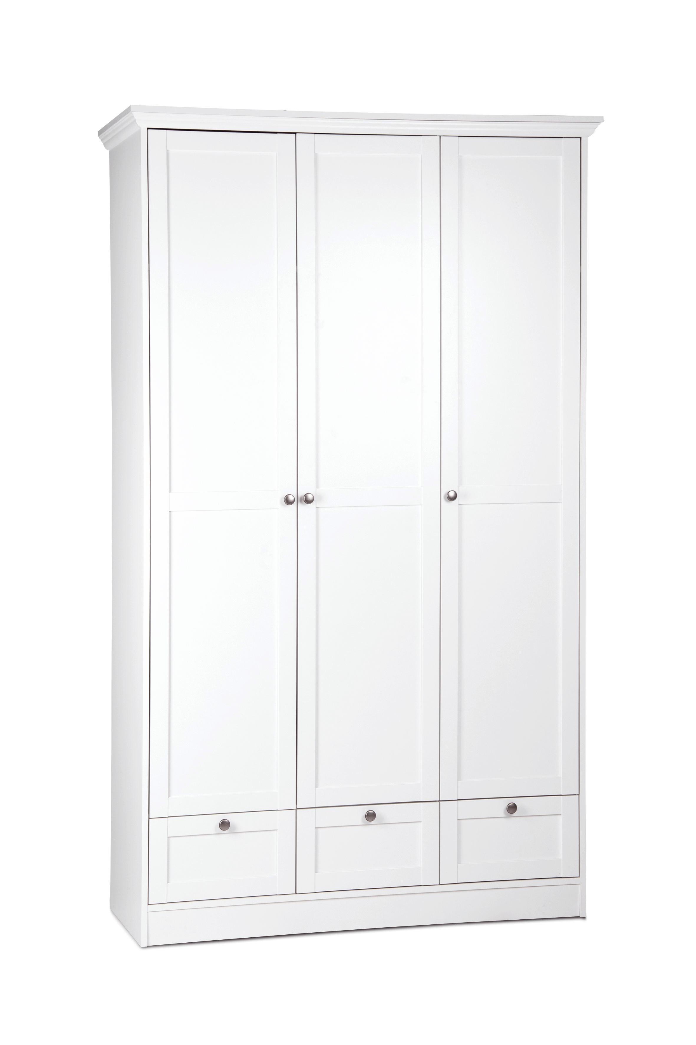 Kleiderschrank 3 Turig Weiss Online Kaufen Xxxlutz