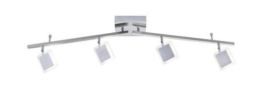 LED-STRAHLER - Nickelfarben, Design, Metall (114,4/22/22cm)