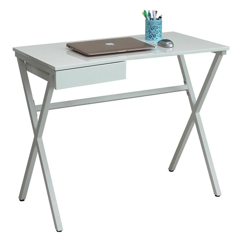 Carryhome COMPUTERTISCH Weiß   Büro > Bürotische > Computertische   Metall   Carryhome