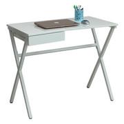 PC STŮL - bílá, Design, kov/kompozitní dřevo (90/76/48cm) - Carryhome