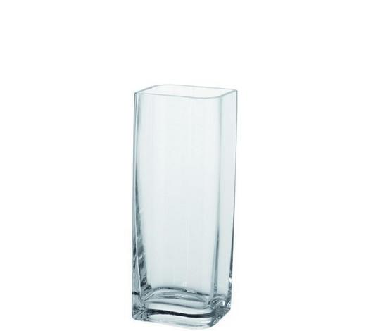 VÁZA, čiré - čiré, Basics, sklo (30cm) - Leonardo