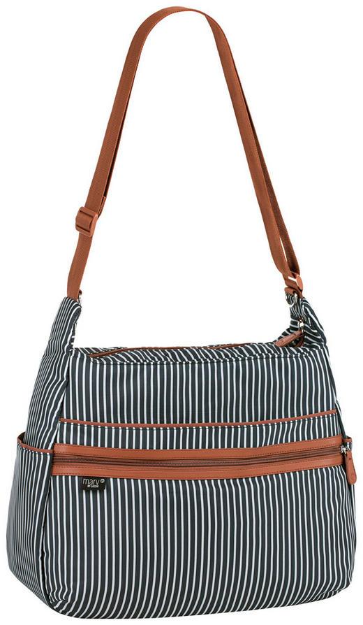 Urban Bag  WICKELTASCHE - Anthrazit/Weiß, Basics, Textil (40/16/32cm) - Lässig