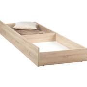 BETTKASTEN in - Sonoma Eiche, Design, Holzwerkstoff/Kunststoff (198,6/23/63,5cm) - CARRYHOME