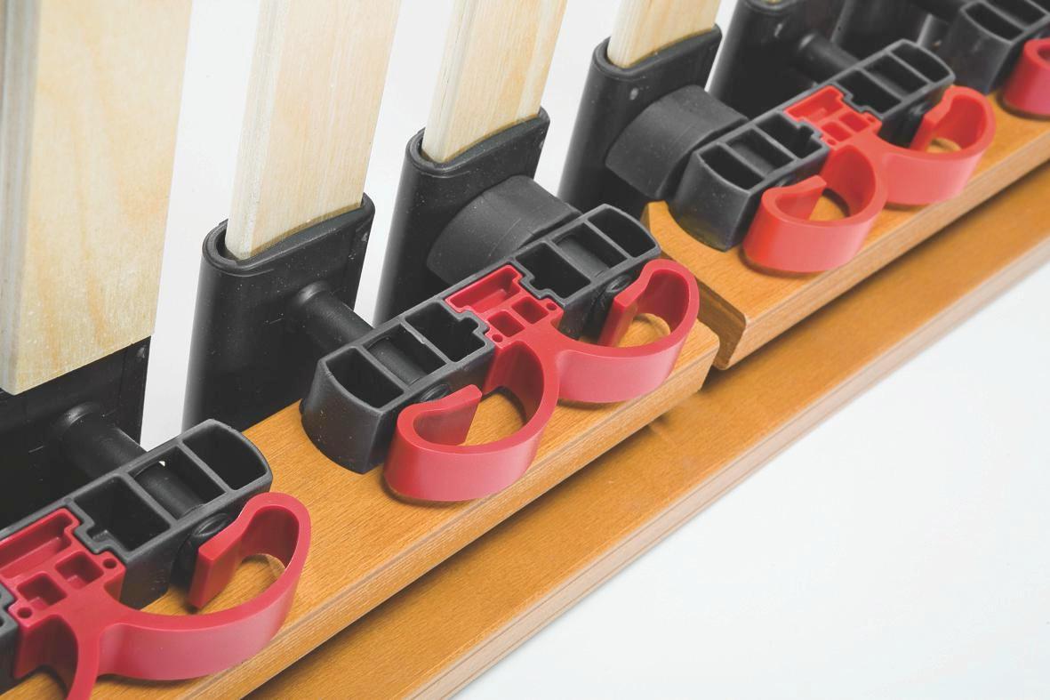 LATTENROST  100/200 cm  Buche Echtholz - Hellbraun/Buchefarben, Basics, Holz (100/200cm) - SCHLARAFFIA