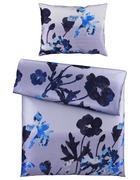 POVLEČENÍ, satén, modrá, petrolej, 140/200 cm - petrolej/modrá, Design, textil (140/200cm) - Esposa