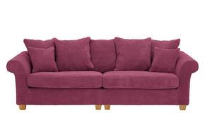 SOFFA - röd/ljusröd, Lifestyle, trä/textil (264/111cm) - Landscape
