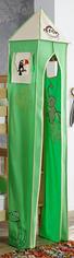 TURMSET Beige, Grün - Beige/Grün, Design, Textil (40/200/40cm)