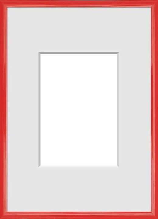 BILDERRAHMEN in Rot - Rot, Basics, Kunststoff (31/22/1.75cm)