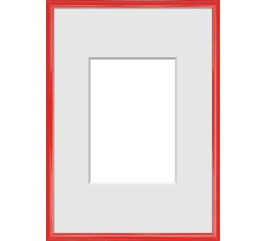 RÁM NA OBRAZY - červená, Basics, umělá hmota (31/22/1.75cm)