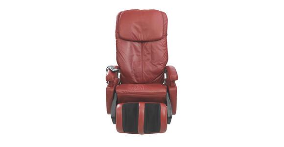 MASSAGESESSEL in Textil Rot  - Rot/Schwarz, Design, Kunststoff/Textil (72/128/175cm) - Cantus