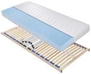 MATRATZENSET 90/200 cm  - Birkefarben, Basics, Holz (90/200cm) - Sleeptex