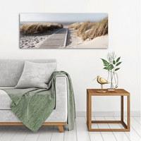 Stege GLASBILD - Multicolor, Basics, Glas (50/125cm) - Eurographics